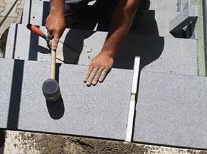 vgradnja granitnih stopnic