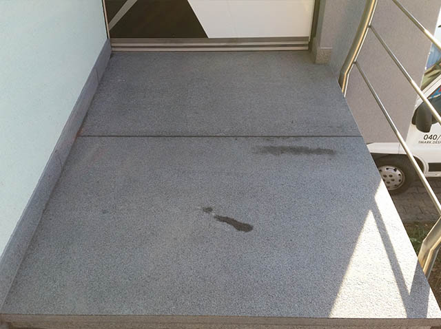 polaganje granitnih stopnic 15 , končni izdelek