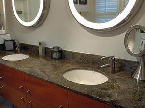 kopalniški granitni pult