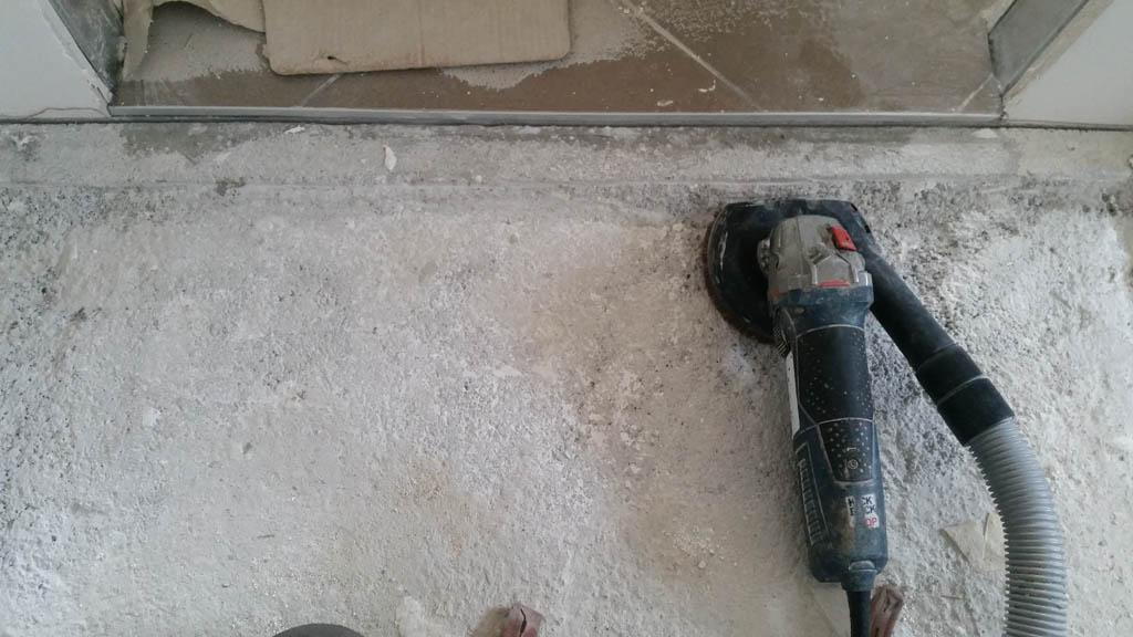 Brušenje betona