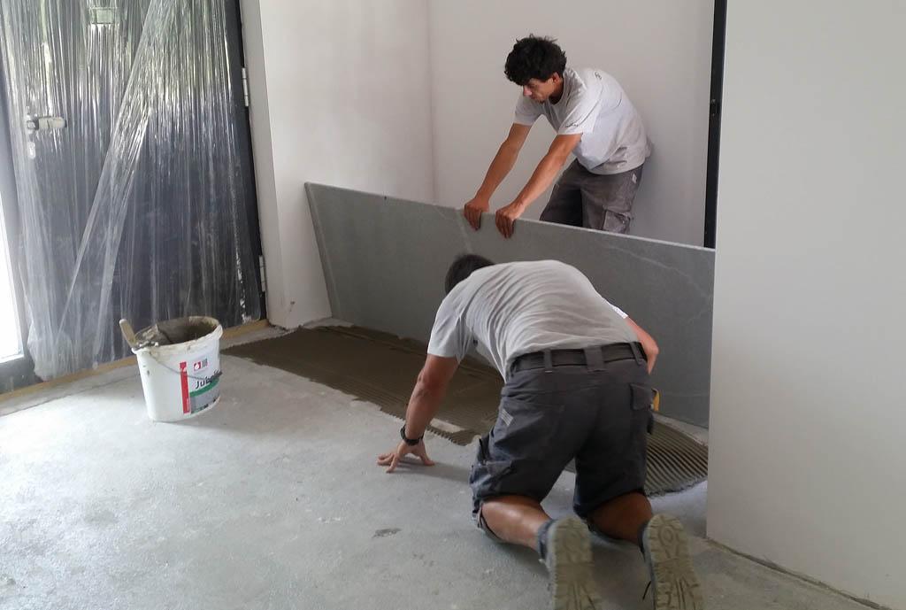 lepljenje granitnih plošč