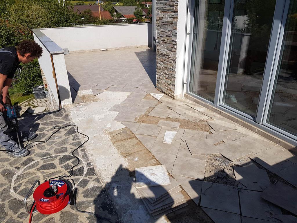 Granitna obloga na terasi 1