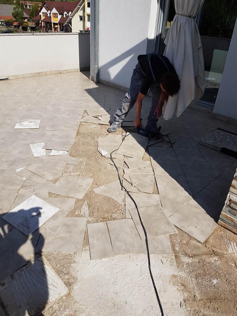 Granitna obloga na terasi 11