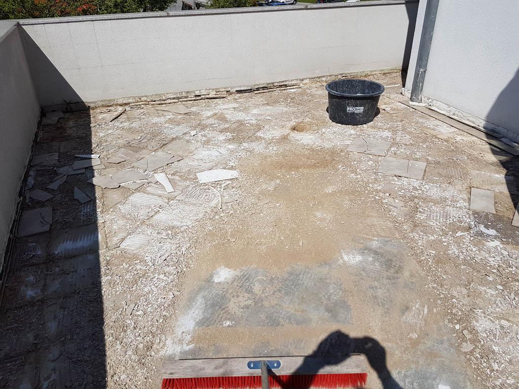 Granitna obloga na terasi 14