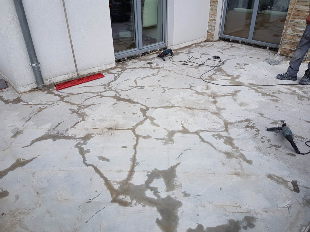 Granitna obloga na terasi 18