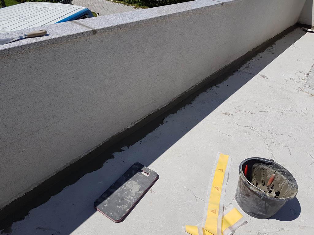 Granitna obloga na terasi 34