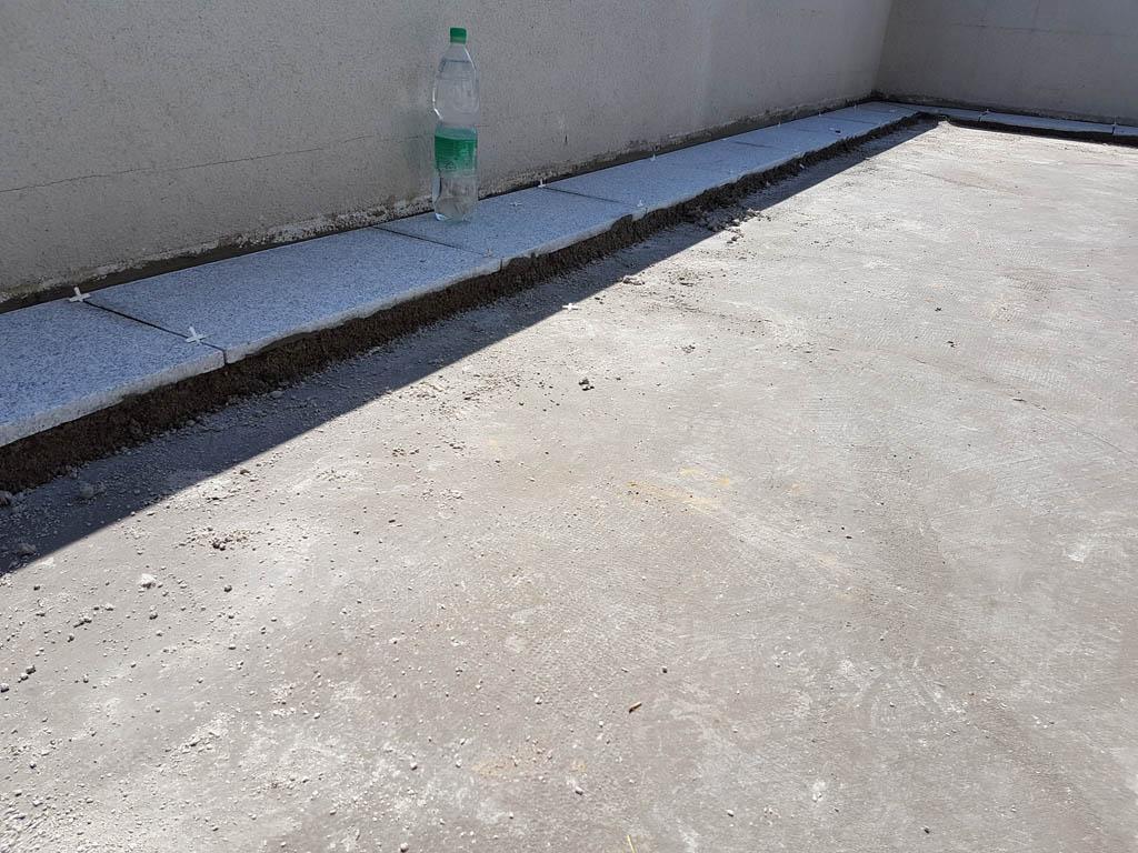 Granitna obloga na terasi 45