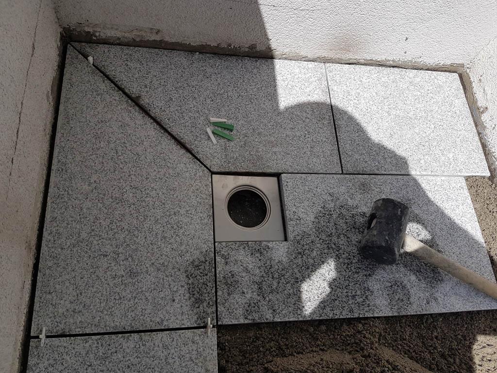Granitna obloga na terasi 46