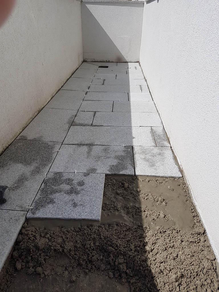 Granitna obloga na terasi 47