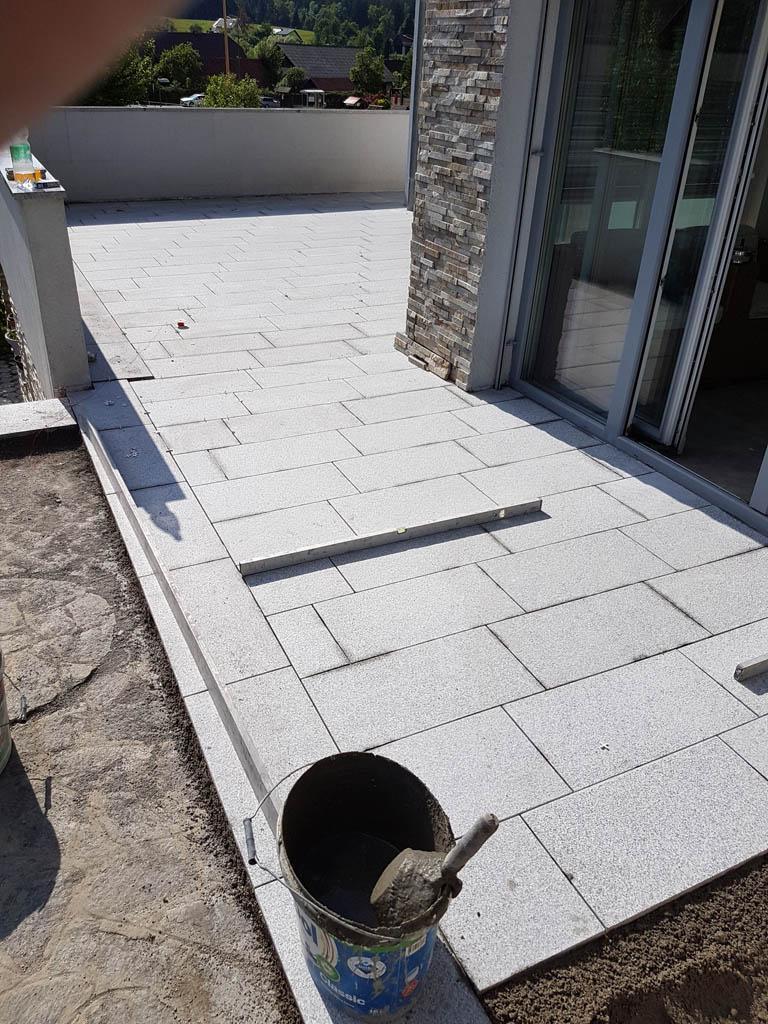 Granitna obloga na terasi 55