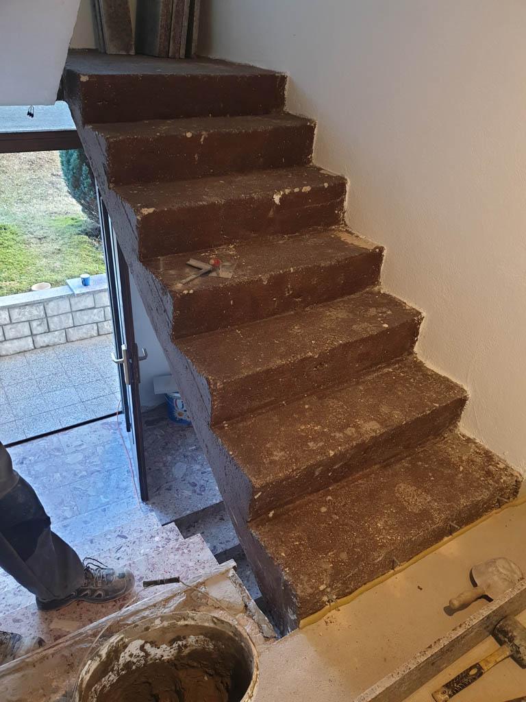 Granitne stopnice Rosa Porrino1