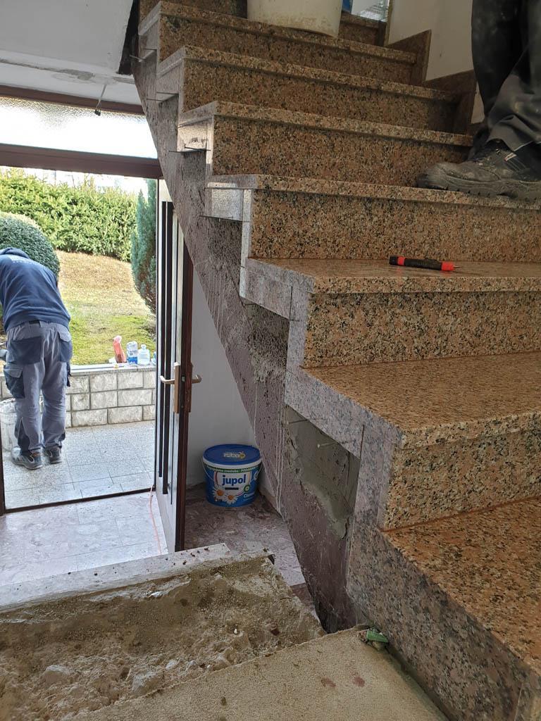 Granitne stopnice Rosa Porrino25