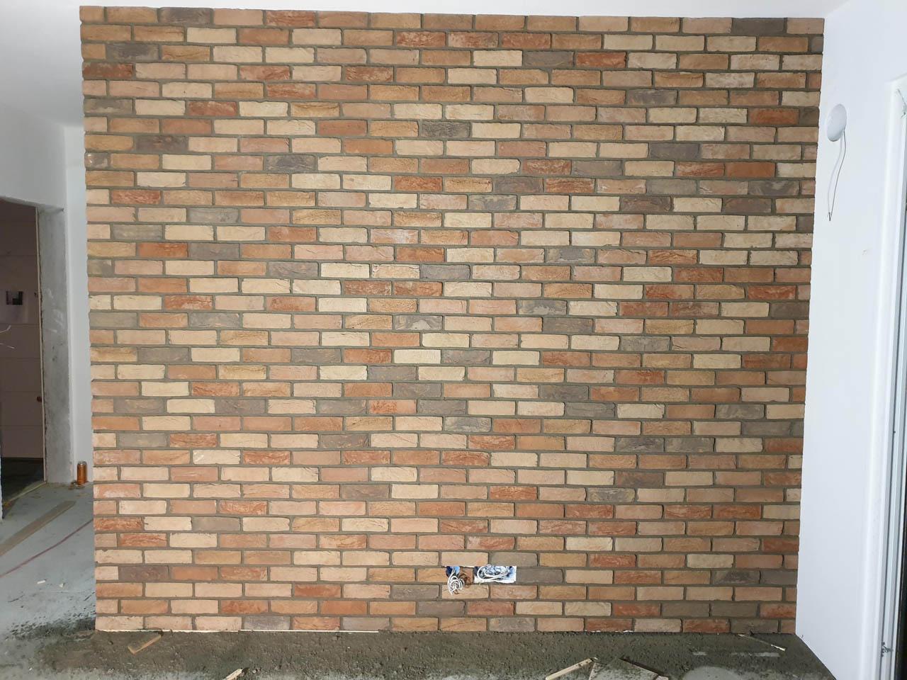 Dekorativna opeka na steni