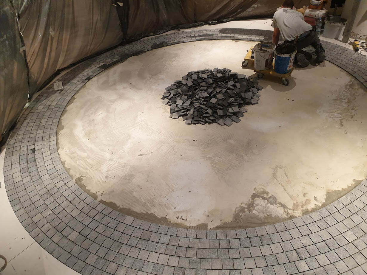 polaganje granita
