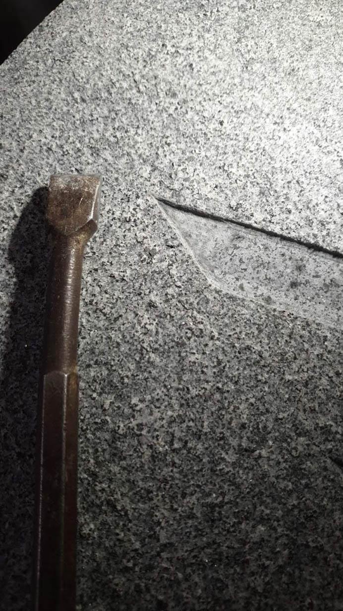 Klesanje granit
