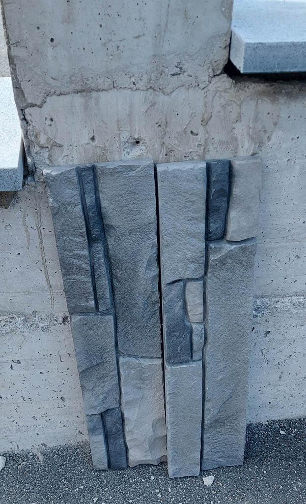 Oblaganje škarpe z umetnim kamnom