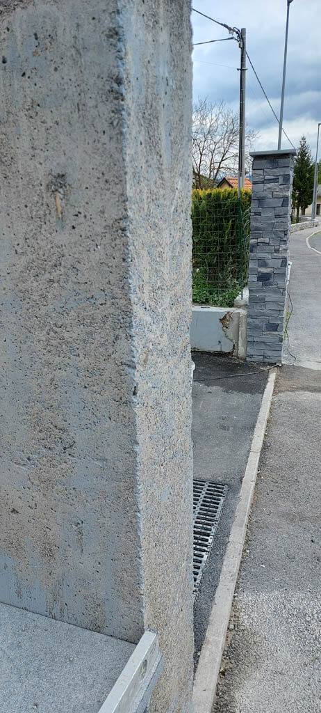 Steber - prej in potem
