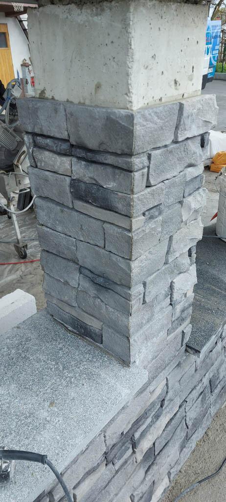 Vogal dekorativnega kamna