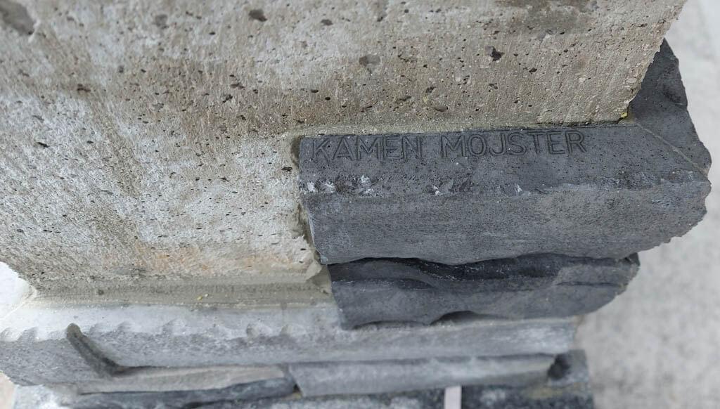 Umetni kamen iz lastne proizvodnje